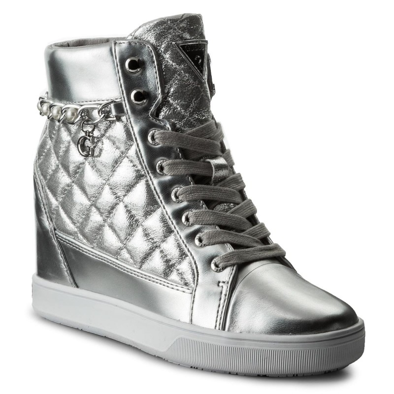 Sneakers GUESS-Forty FLFRT1 LEL12 SILVE