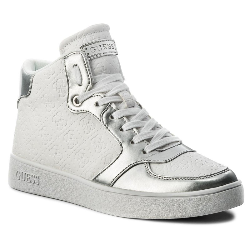 Sneakers GUESS-Backer FLBAC1 ELE12 SILVE