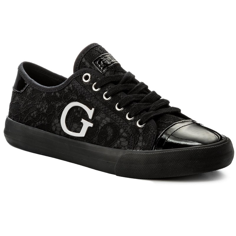 Turnschuhe GUESS-Elly FLLLY1 LAC12 BLACK