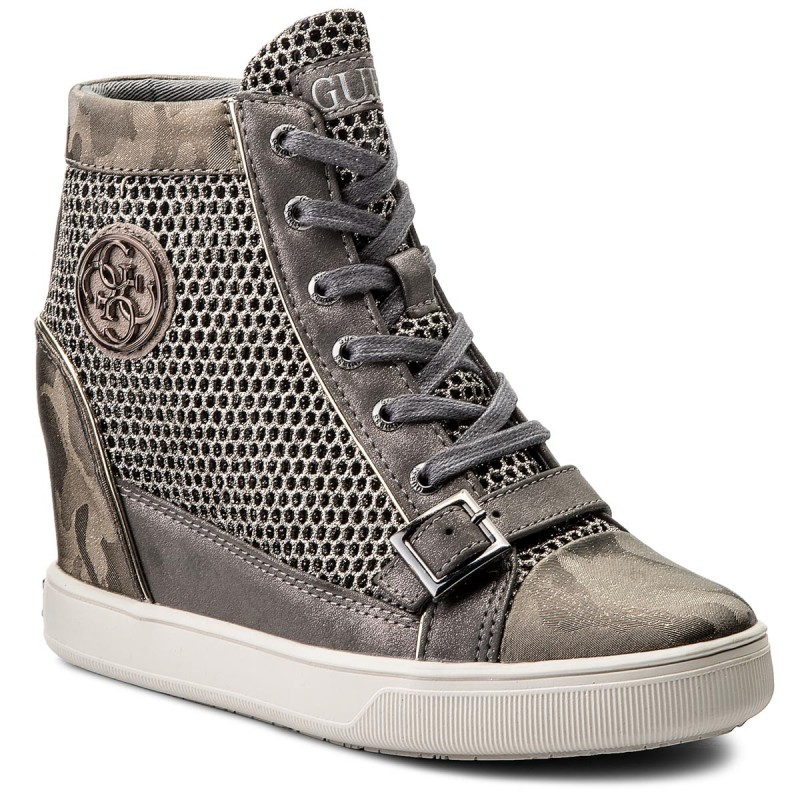 Sneakers GUESS-Fiore FLIOE1 FAM12 GREY