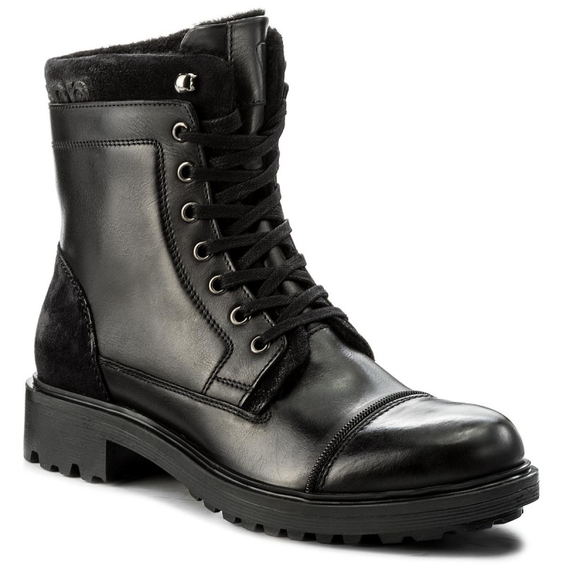 Trapperschuhe STRELLSON-Benchill George Boot 4010002318 Black 900