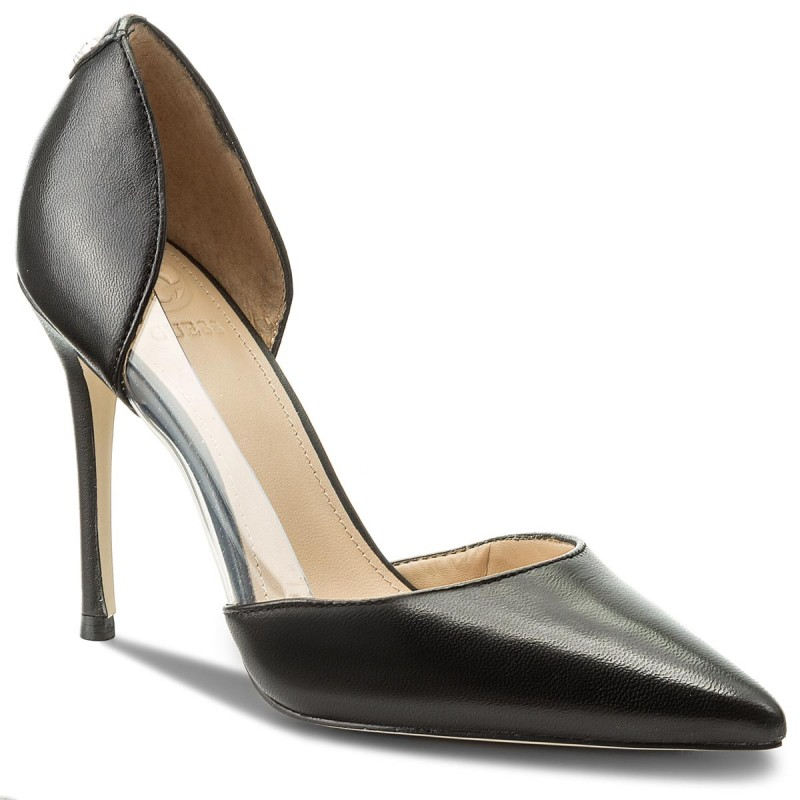 High Heels GUESS-Bliss FLBS21 LEA08 BLACK