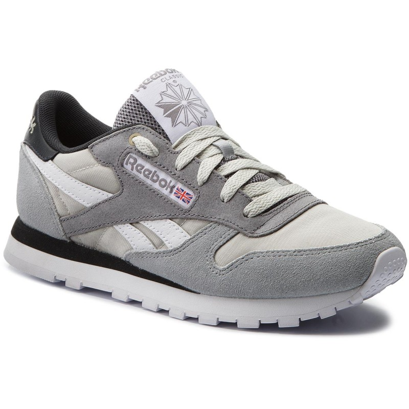 Schuhe Reebok-Cl Leather Mccs CM9612 Marble/Iron/Gravel/Brown