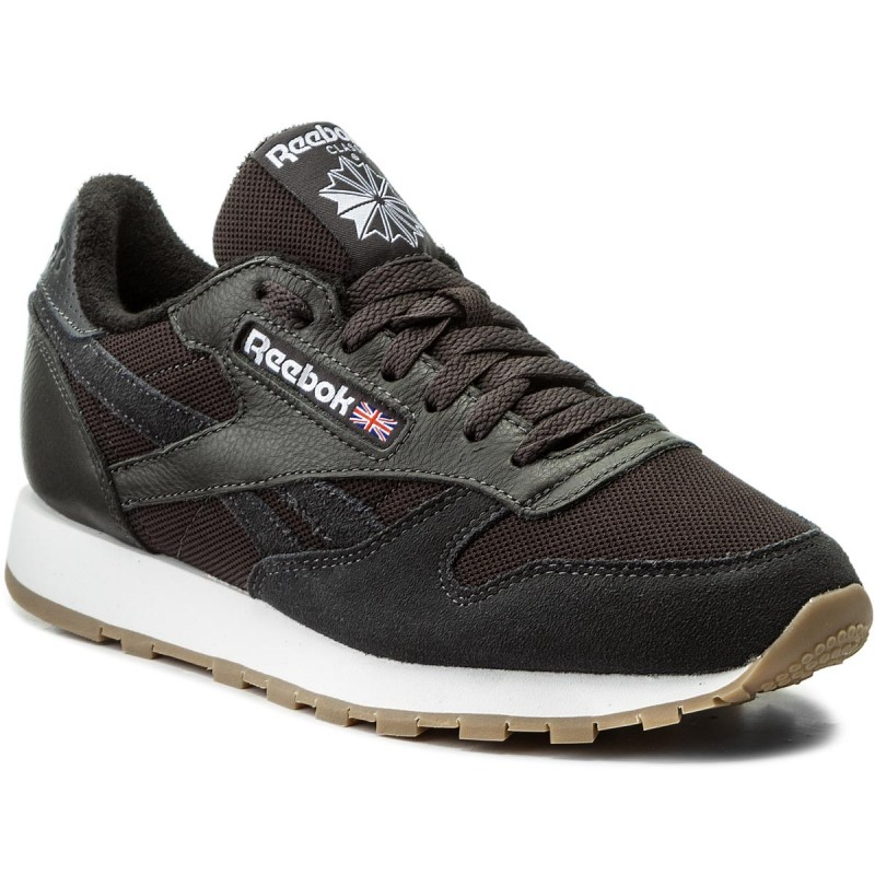 Schuhe Reebok-Cl Leather Estl BS9719 Coal/White