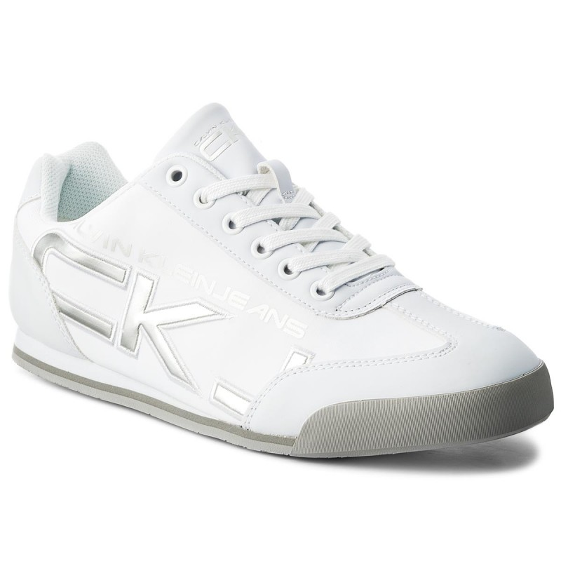 Sneakers CALVIN KLEIN JEANS-Cale SE8454 White/Silver
