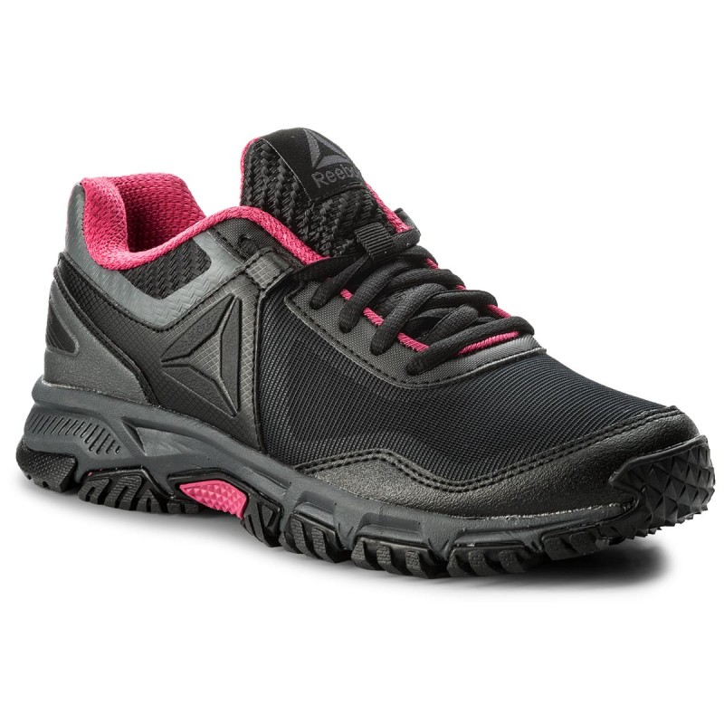Schuhe Reebok-Ridgerider Trail 30 CM8990 Black/Ash Grey/Acid Pink