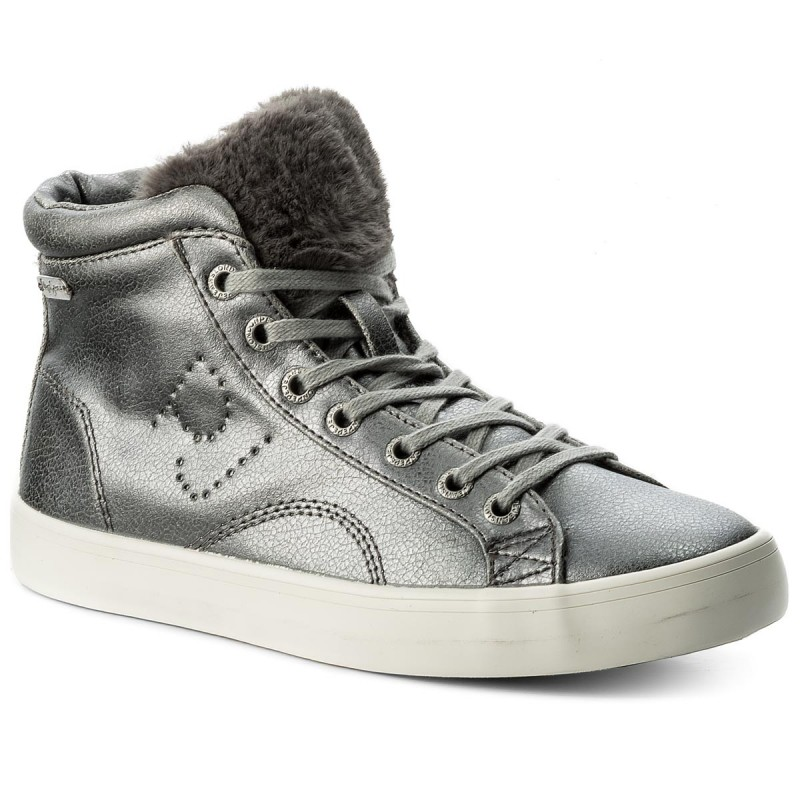 Sneakers PEPE JEANS-Clinton Sally PLS30574 Silver 934