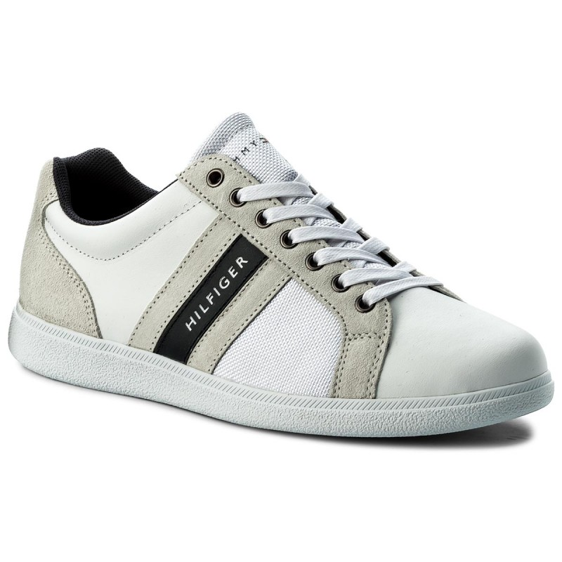 Sneakers TOMMY HILFIGER-Core Material Mix Cupsole FM0FM01479  White 100