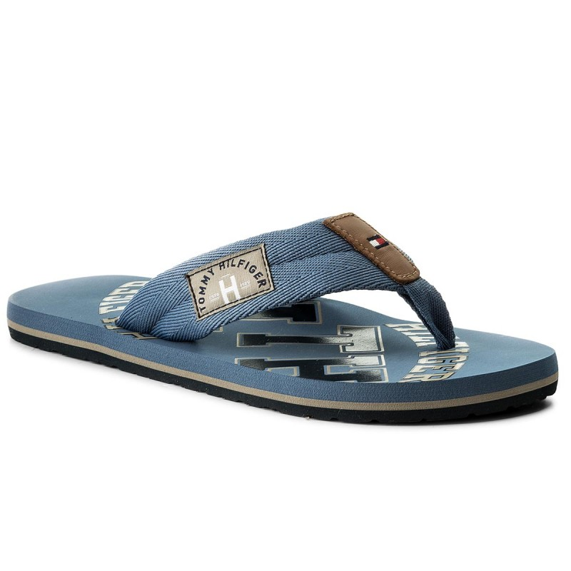 Zehentrenner TOMMY HILFIGER-Essential Th Beach Sandal FM0FM01369  Jeans 013