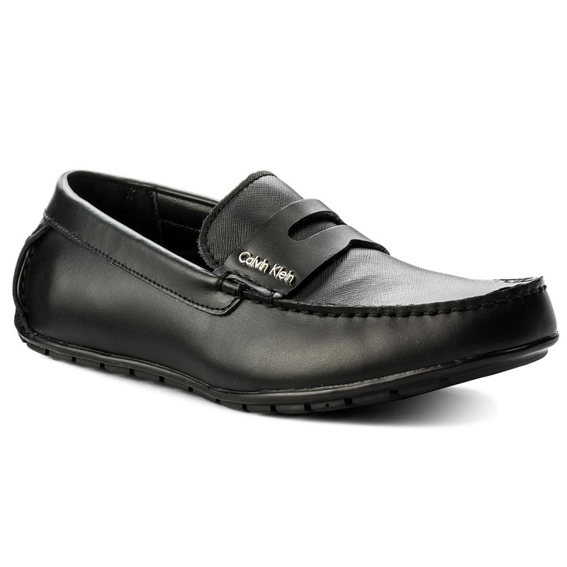 Mokassins CALVIN KLEIN BLACK LABEL-Ivan F1912 Black