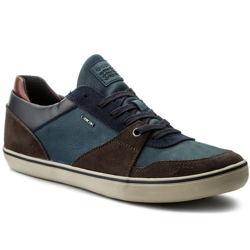 Sneakers GEOX-U Box A U74R3A 022EK C6TF4 Dk Coffee/Navy