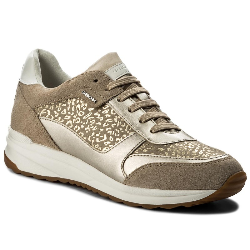 Sneakers GEOX-D Airell C D642SC 0DC22 C6738 Lt Taupe