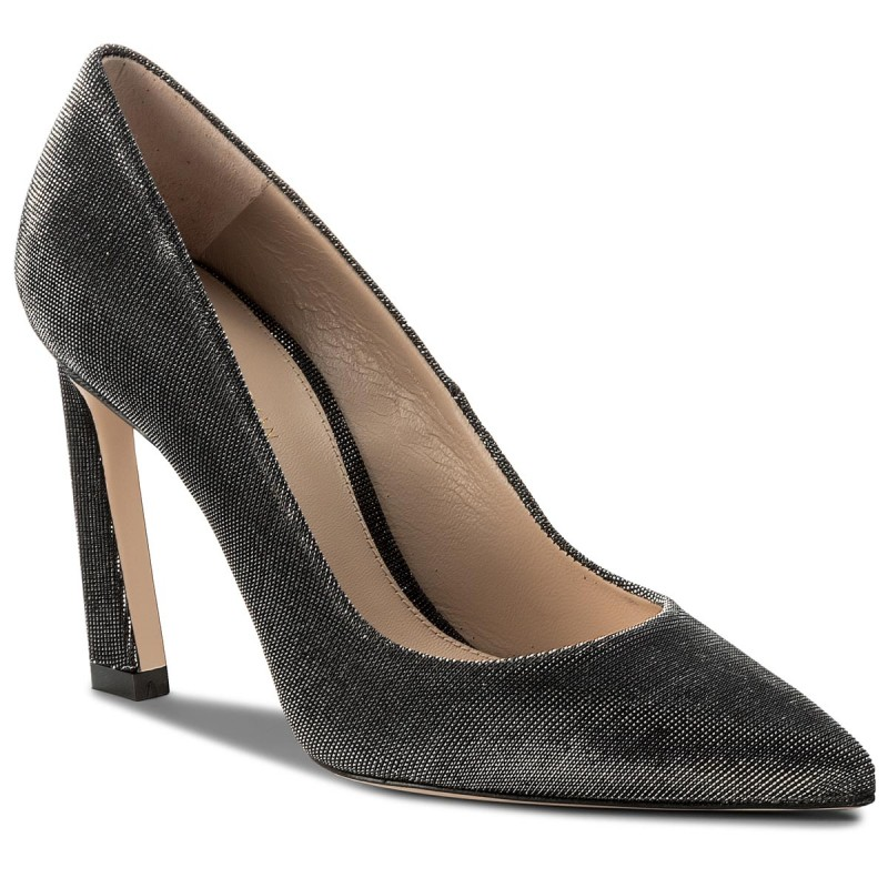High Heels STUART WEITZMAN-Chicster XL17440 Black Nighttme