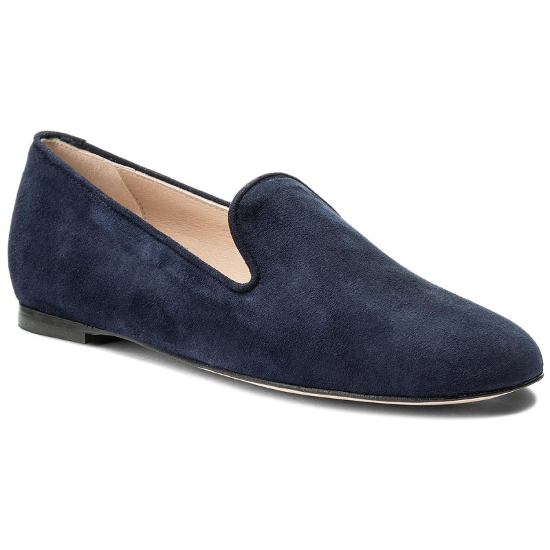 Lords Schuhe STUART WEITZMAN-Myguy XL17489 French Navy Seda Suede