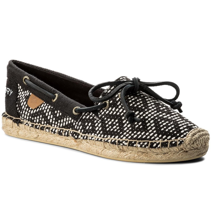 Espadrilles SPERRY-STS95188  Blk/Wht Tribal
