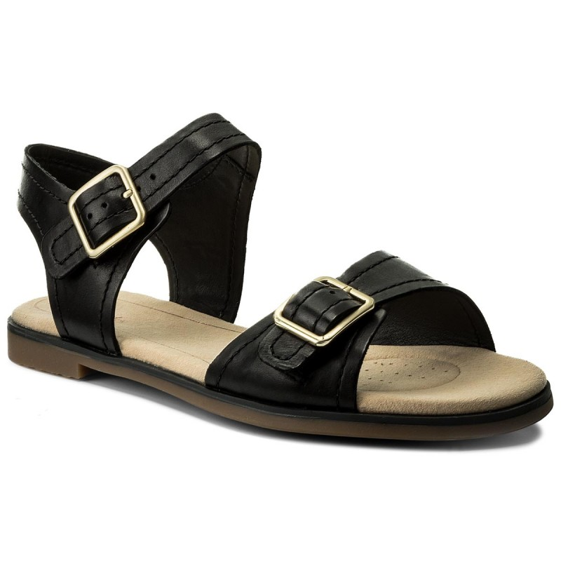 Sandalen CLARKS-Bay Primrose 261319344 Black Leather