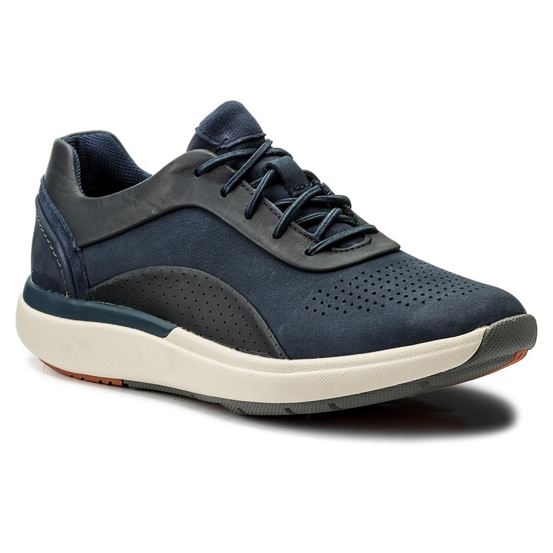 Sneakers CLARKS-Un Cruise Lace 261326704 Navy Combi