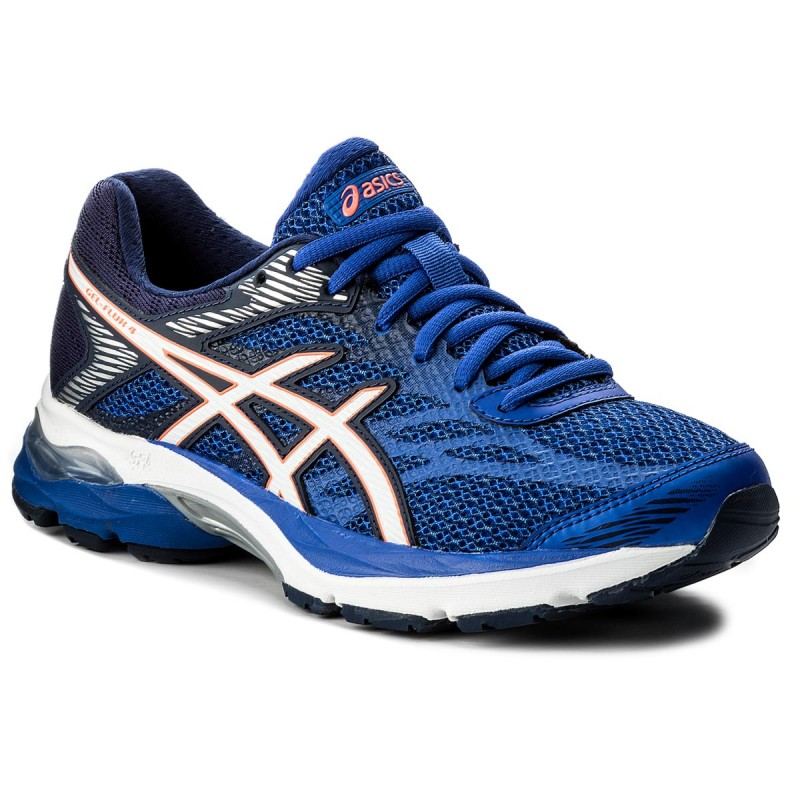 Schuhe ASICS-Gel-Flux 4 T764N  Blue Purple/White/Indigo Blue 4801