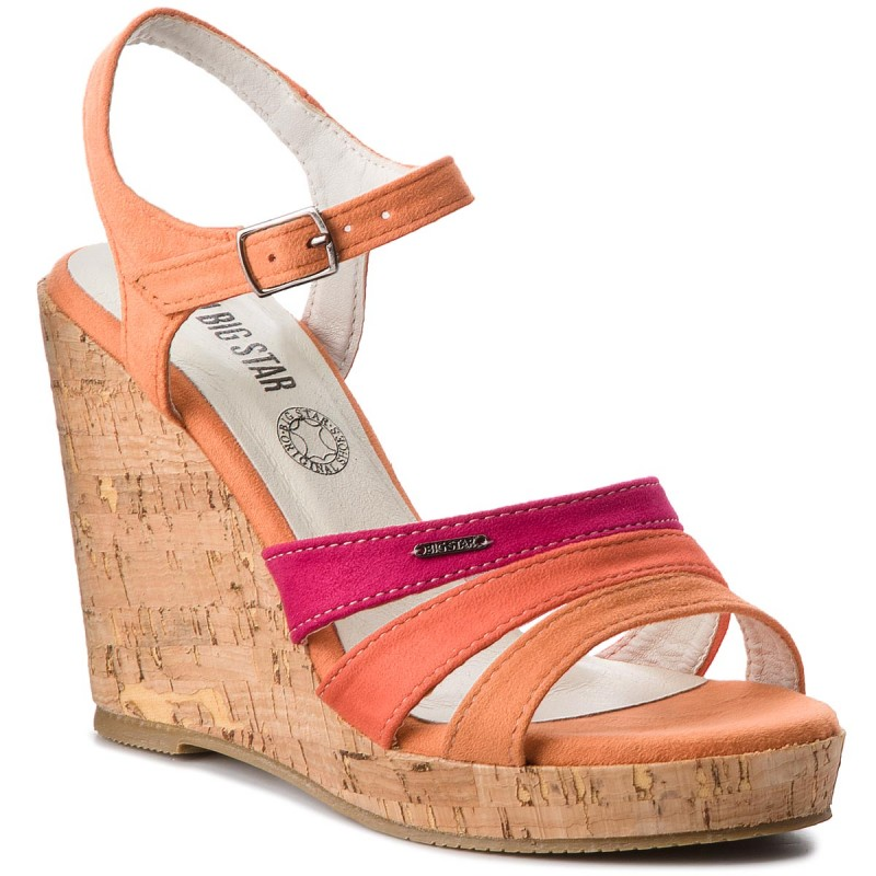 Sandalen BIG STAR-AA274396  Orange