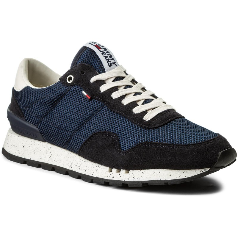 Sneakers TOMMY JEANS-Lifestyle Sneaker EM0EM00041 Ink 006