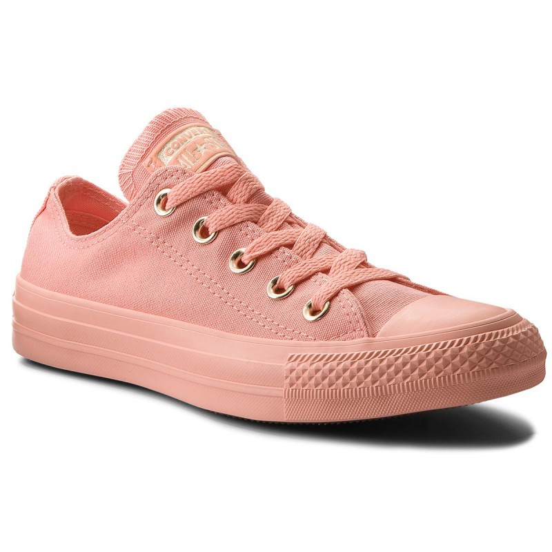 Sportschuhe CONVERSE-Ctas Ox 560683C Pale Coral/Pale Coral/Gold