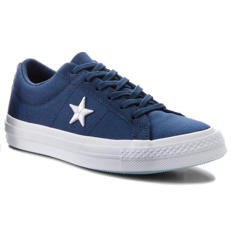 Turnschuhe CONVERSE-One Star Ox 160598C Navy/White/Ocean Bliss