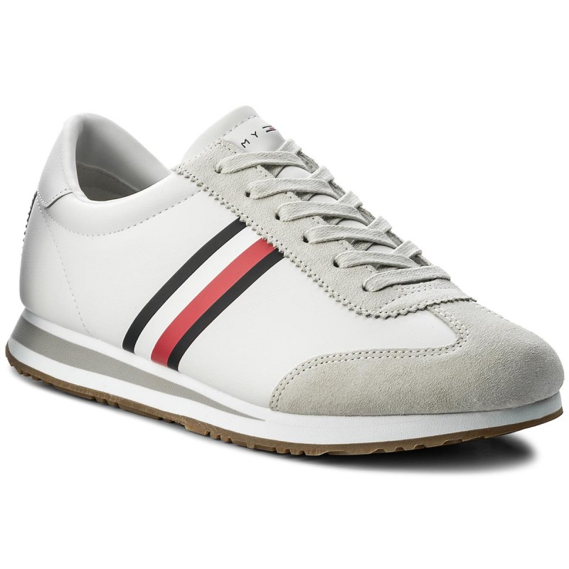 Sneakers TOMMY HILFIGER-Core Corporate Sneaker FM0FM01311 White 100