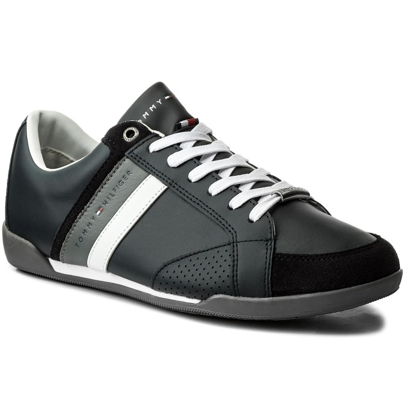 Sneakers TOMMY HILFIGER-Corporate Material Mix Cupsole FM0FM01532 Midnight 403