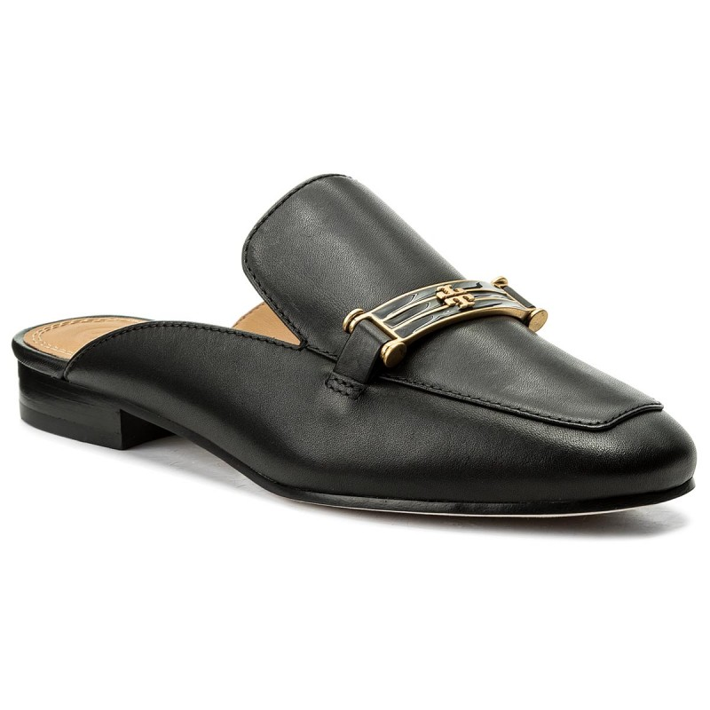 Pantoletten TORY BURCH-Amelia Backless Loafer 48282 Perfect Black 006