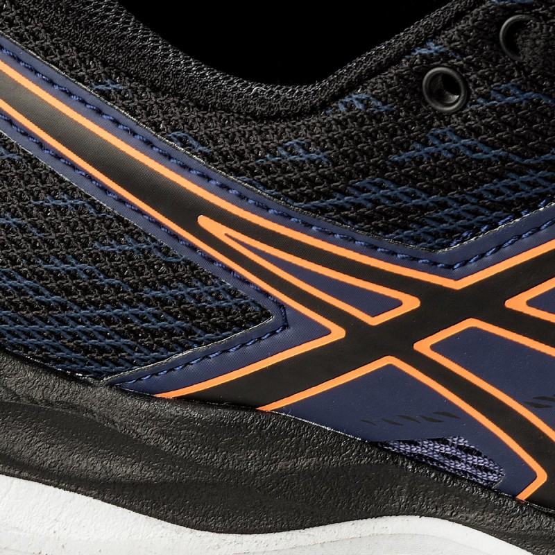 Schuhe ASICS-Gel-Cumulus 19 Gs C742N Indigo Blue/Black/Shocking Orange 4990