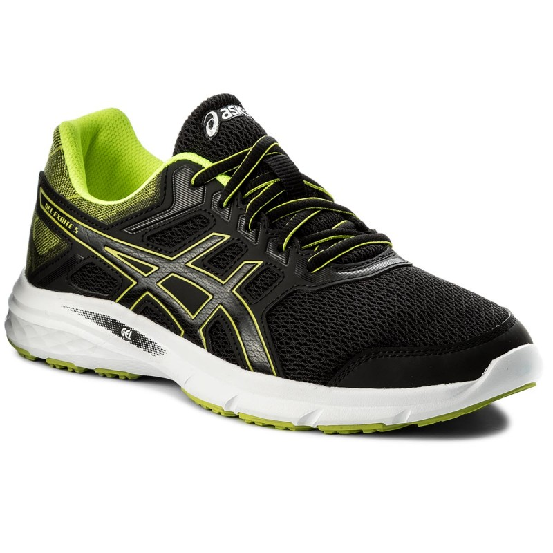 Schuhe ASICS-Gel-Excite 5 T7F3N Black/Safety Yellow/Black 9007