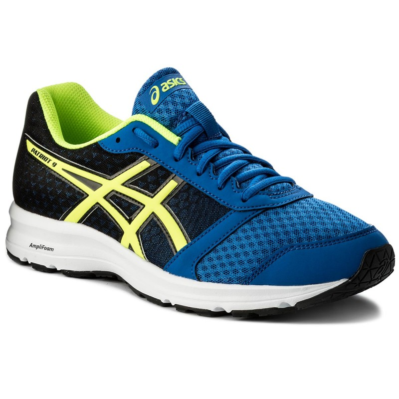 Schuhe ASICS-Patriot 9 T823N Victoria Blue/Safety Yellow/Black 4507