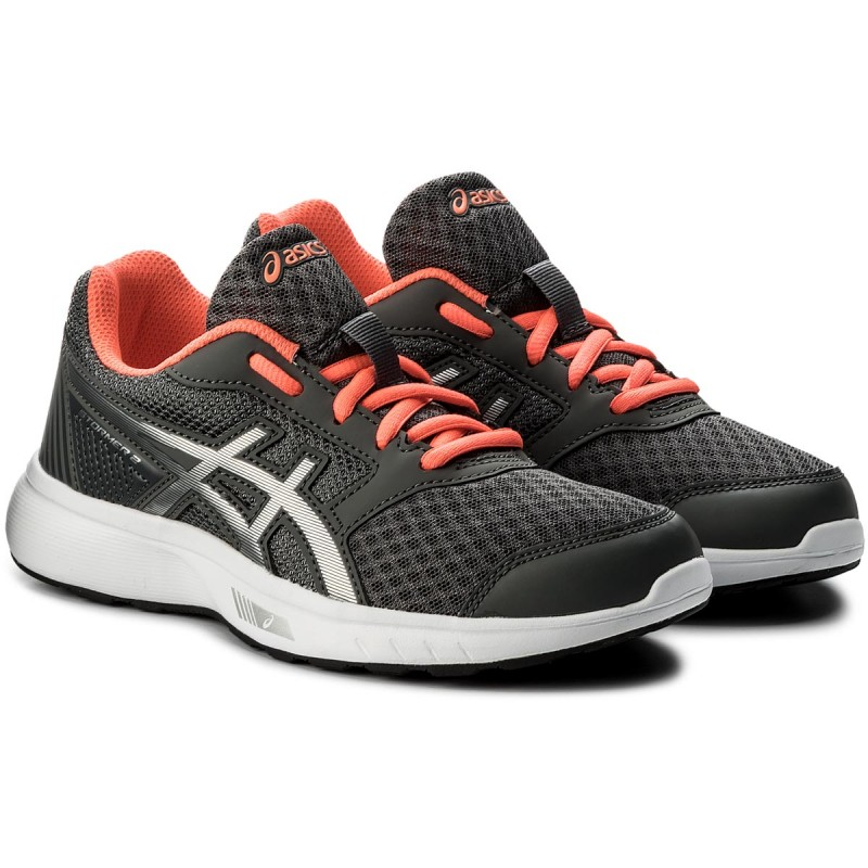Schuhe ASICS-Stormer 2 T893N  Carbon/Silver/Flash Coral 9793