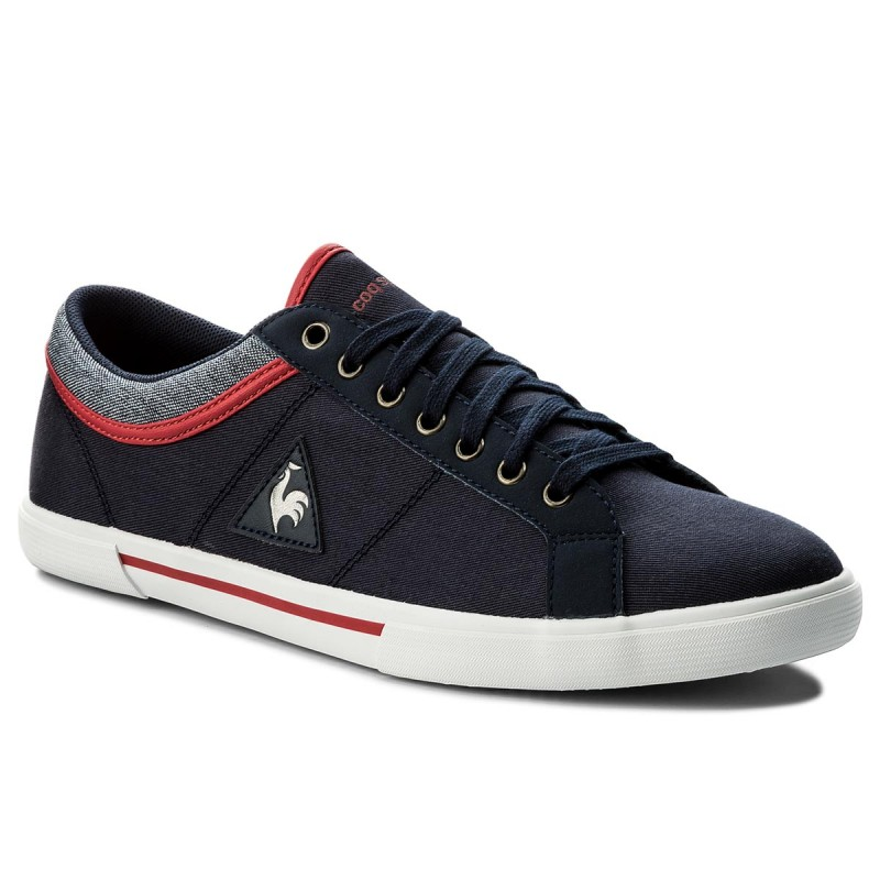 Turnschuhe LE COQ SPORTIF-Saint Dantin Canvas 1810223 Dress Blue/Vintahe Red