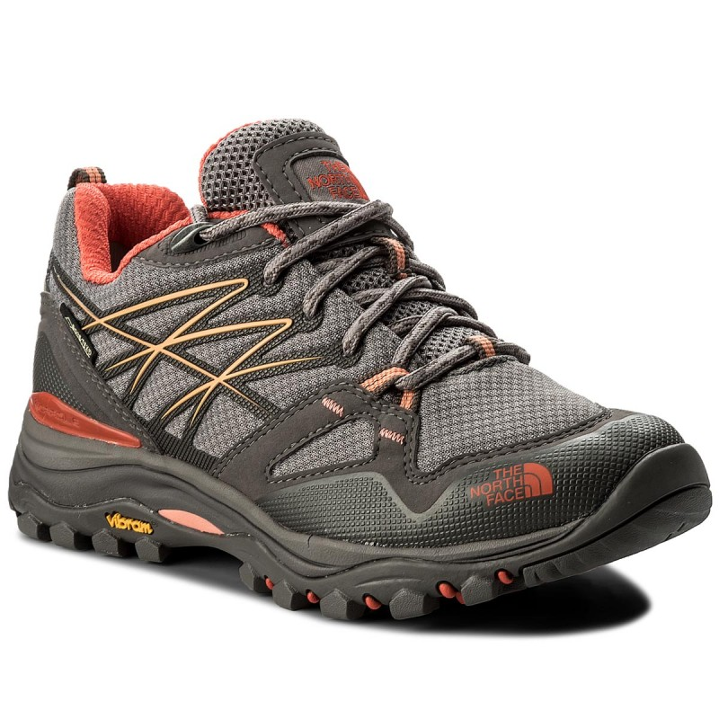 Trekkingschuhe THE NORTH FACE-Hedgehog Fastpack Gtx (Eu) GORE-TEX T0CXT44FV Q-Silver Grey/Desert Flower Orange