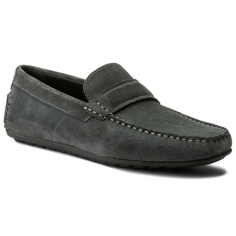 Mokassins BOSS-Dandy 50379970 10204410 01 Dark Grey 021