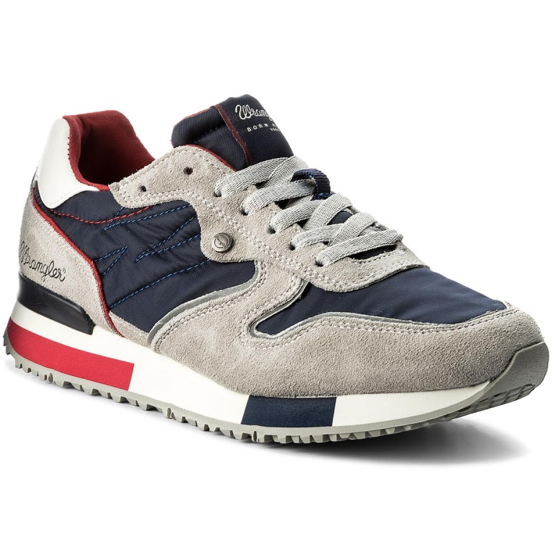 Sneakers WRANGLER-Forest WF181081 Gray/Navy 582