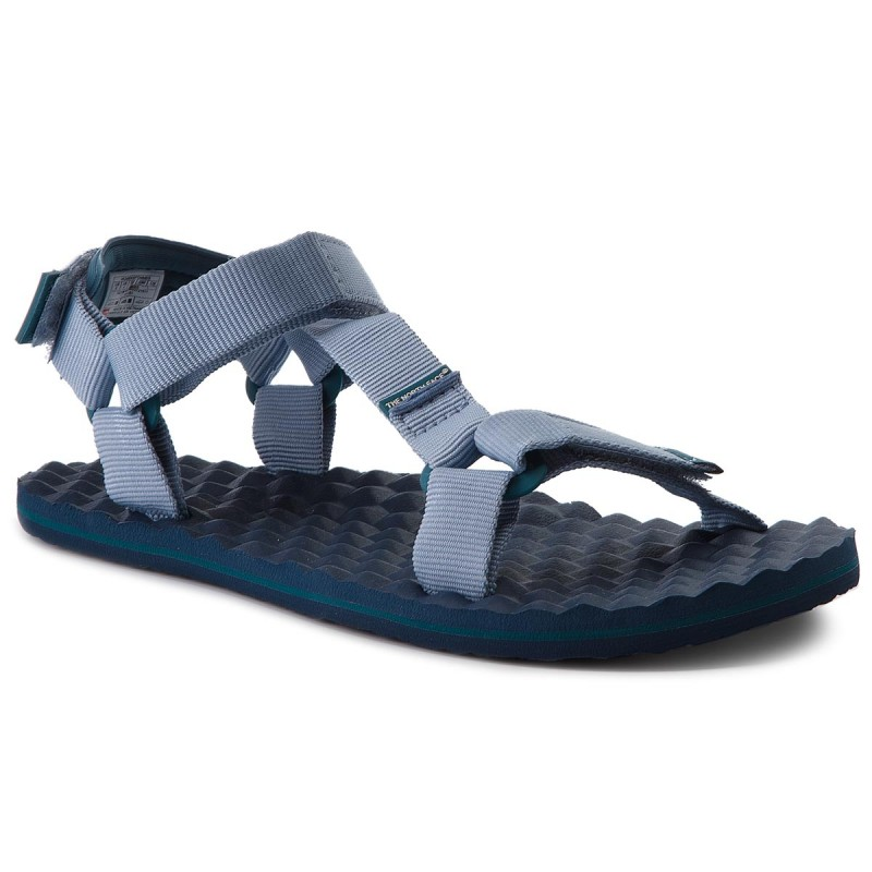 Sandalen THE NORTH FACE-Base Camp Switchback Sandal T92Y984FL Dusty Blue/Blue Coral