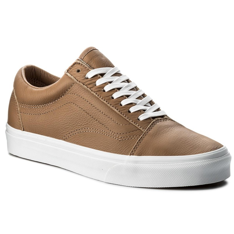 Turnschuhe VANS-Old Skool VN0A38G1R0S (Leather) Tawny Brown/True White