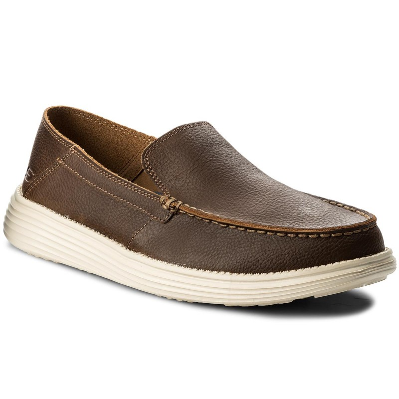 Mokassins SKECHERS-Breson 65505/BRN Brown