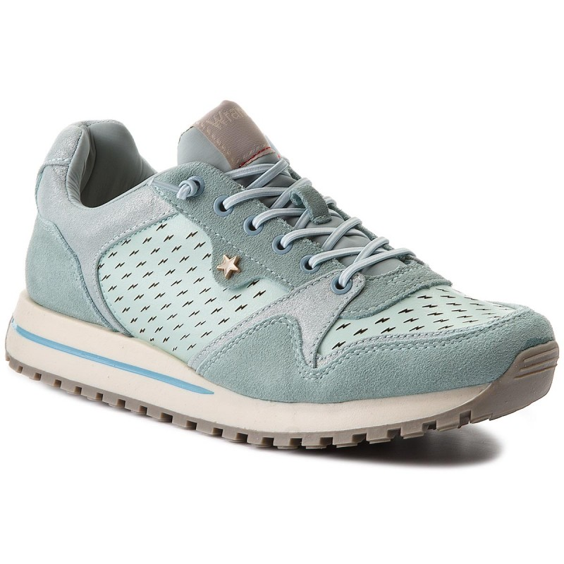 Sneakers WRANGLER-Beyond Punched WL181556 Lt Blue 12