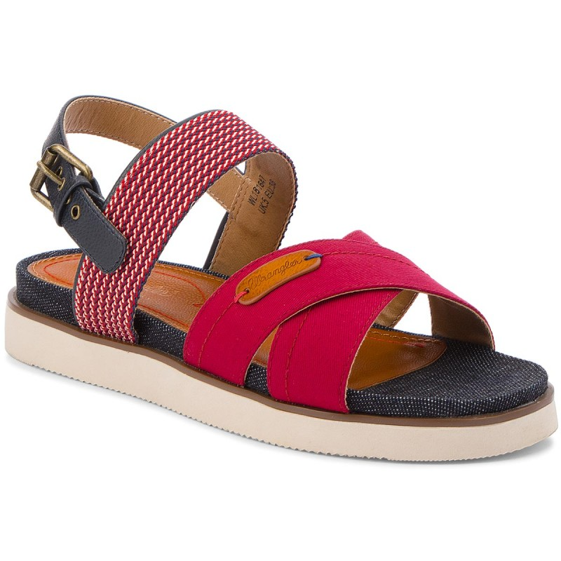 Sandalen WRANGLER-Sunset Karen WL181647 Red 87