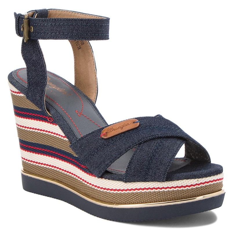 Sandalen WRANGLER-Sunshine Kelly Cross WF1961335  Navy 16