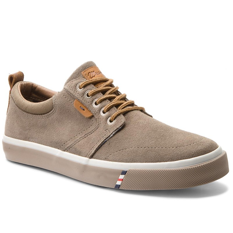 Turnschuhe WRANGLER-Icon Derby Suede WM181022 Taupe 29