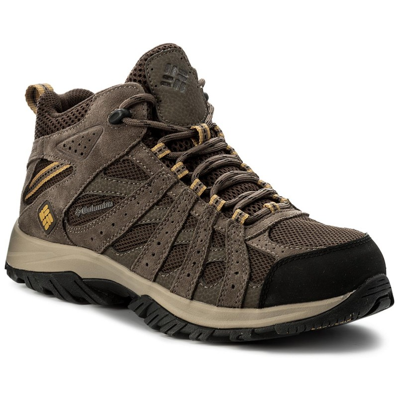 Trekkingschuhe COLUMBIA-Canyon Point Mid Waterproof YM5415 Cordovan/Dark Banana 231