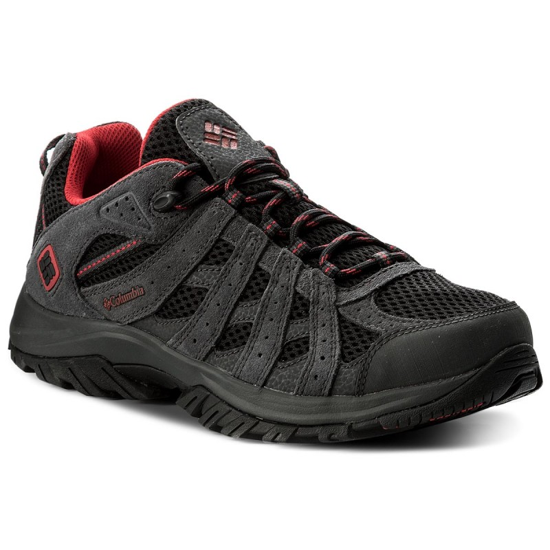 Trekkingschuhe COLUMBIA-Canyon Point YM5417 Black/Mountain Red 010