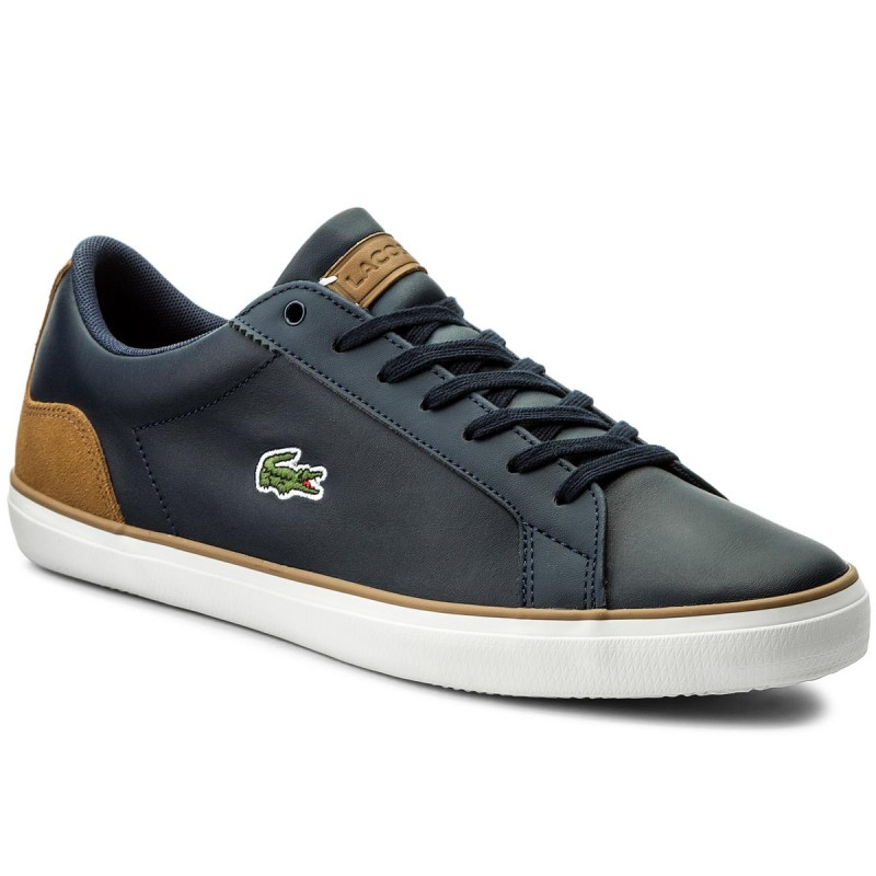 Sneakers LACOSTE-Lerond 118 Cam 7-35CAM00744C1 Navy/Light Brown