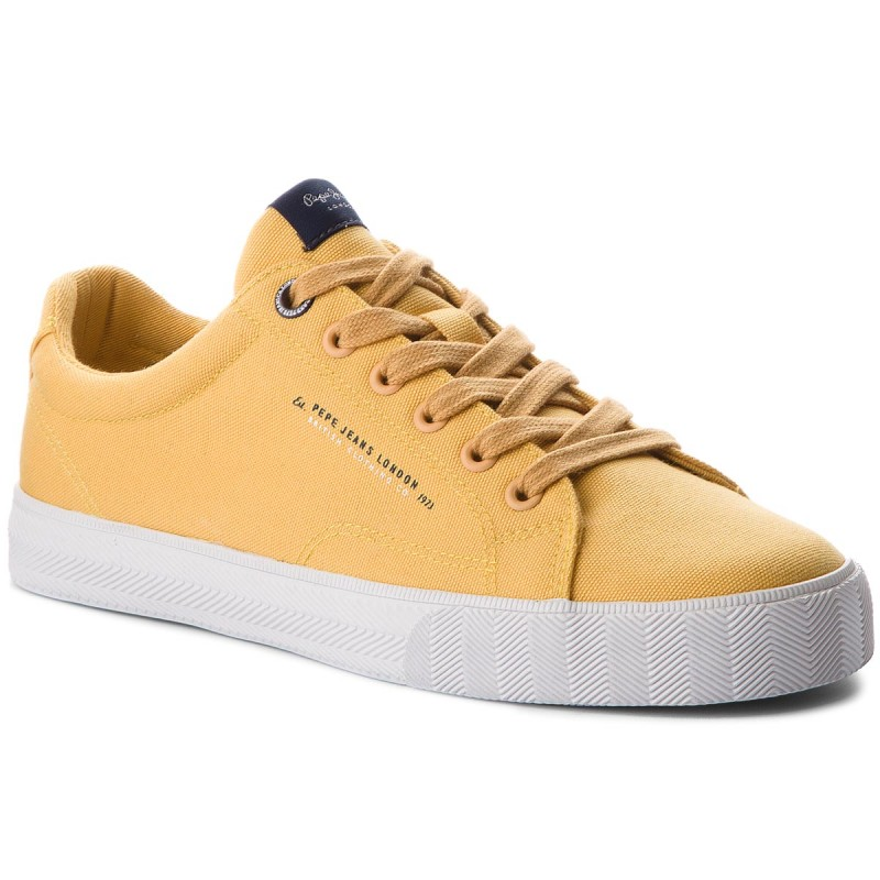 Turnschuhe PEPE JEANS-New North Basic PMS30420 Ochre Yellow 097