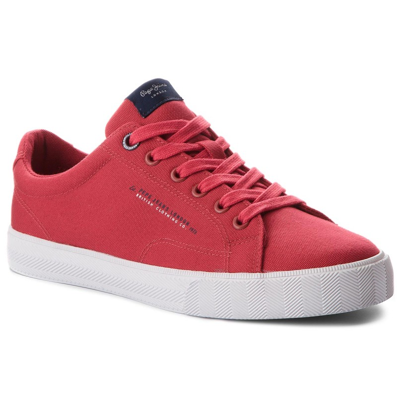 Turnschuhe PEPE JEANS-New North Basic PMS30420 Factory Red 220