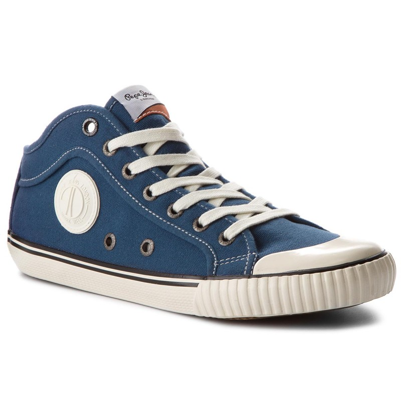 Sportschuhe PEPE JEANS-Industry 1973 PMS30429 Factory Blue 560